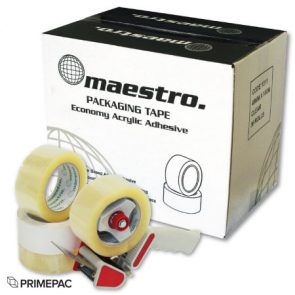 Maestro Tape 36mm x 100m Clear product image