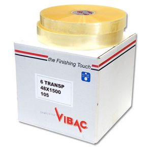 Vibac Machine Tape 38mmx1500m Clear product image