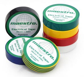 Electrical Tape Black 18mmx20m product image