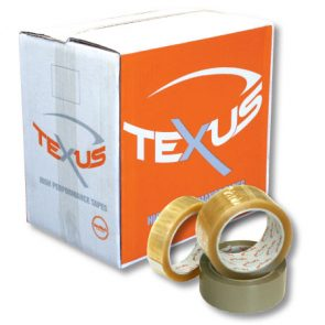 Texus Premium Rubber 25mm x 66m Clear product image