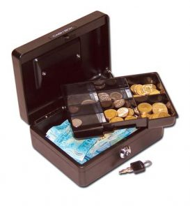 Cash Box 8 Black product image