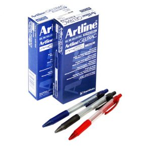 Artline Geltrac Retractable Blue product image
