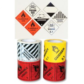Flammable Gas 2.1 Label 96mmx99mm product image