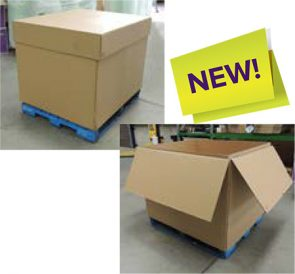 Pallet Box 1200x1000x1000mm Tray Lid product image