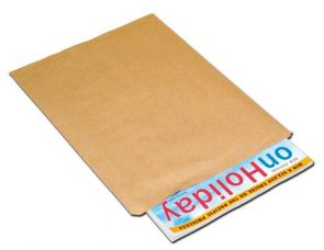 Flat Paper Bag #1 Brown product image