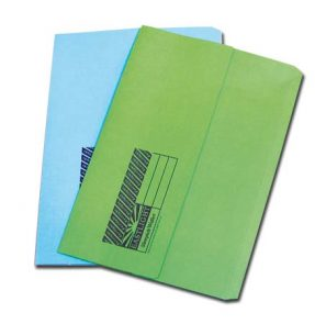 Expanding Wallet Blue Foolscap product image