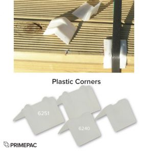 Plastic Corners 19mm White product image
