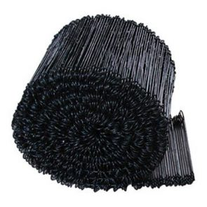 Black Annealed Wire Ties 110mm product image