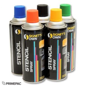 Stencil Spray Black product image