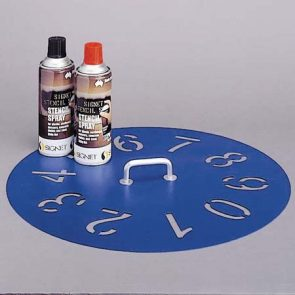 Stencil 0-9 50mm product image