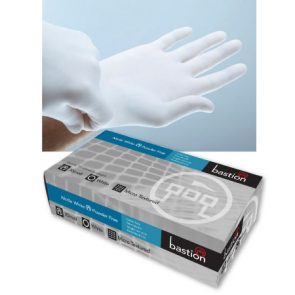 White Nitrile Gloves Small product image