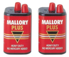 6V Mallory Battery product image