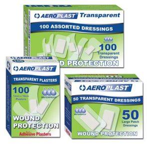 Aeroplast Transparent Plasters pk100 product image