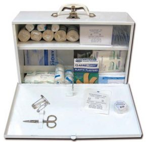 Metal Cabinet First Aid Kit Large product image