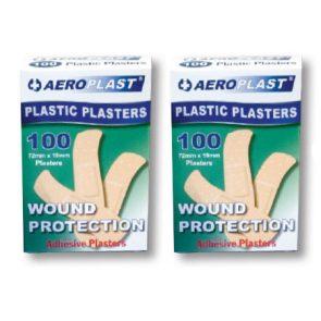 Aeroplast Plastic Plasters pk100 product image