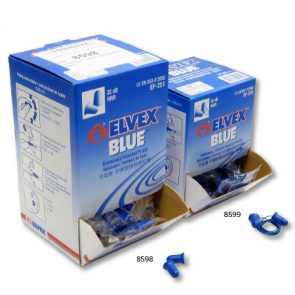 Elvex Blue Foam Earplugs 200 pairs product image