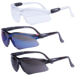 Ultra Safety Glasses Blue Mirror product image