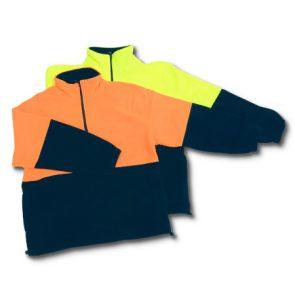 Polarfleece Fl Orange/Blue Med product image