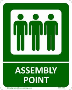Assembly Point Sign product image