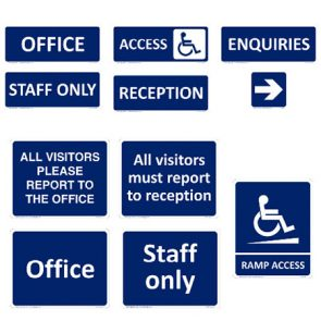 Ramp Access Sign 240x300mm product image