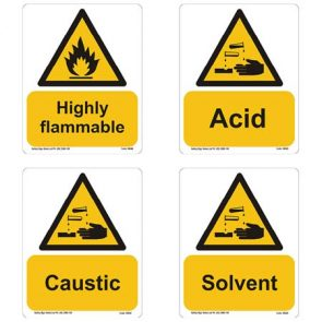 Highly Flammable Sign product image