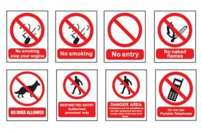 Restricted Entry Sign product image
