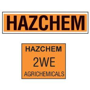 Hazchem Sign product image