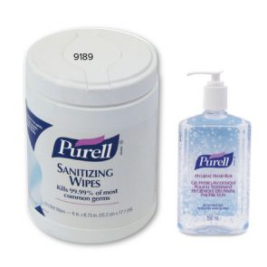 Purell Sanitising Wipes pk270 product image