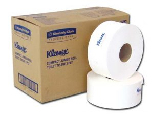 Kleenex Jumbo Rolls 2ply 300m product image