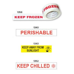 perishable printed tapes, chilled tape product image