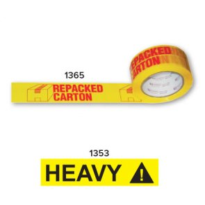 yellow printed tapes product image