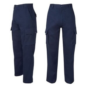 navy cargo pants product image