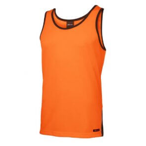 High Visibility Singlet Orange product image