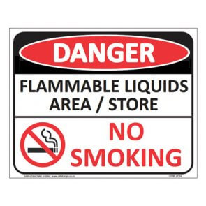Flammable Liquids sign product image