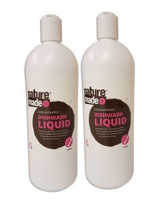 naturemade dish wash liquid product image