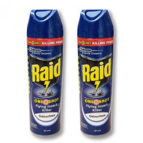 Raid odourless bug spray product image
