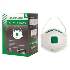 Disposable respirator/dust mask with valve product image