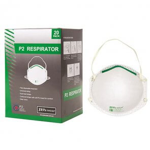 Disposable dust mask/respirator product image