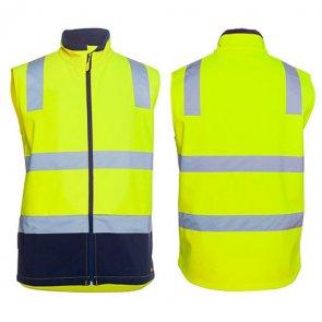 hI Vis Water Resistant Softshell Vest product image