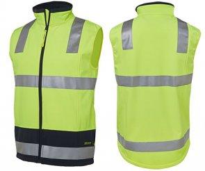Hi Vis Softshell Vest product image