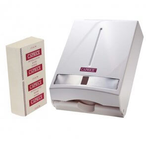 Caprice Interfold Towel & Dispenser product image