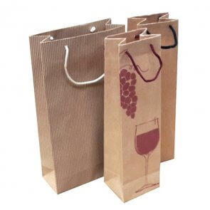Paper Wine Gift Bags product image