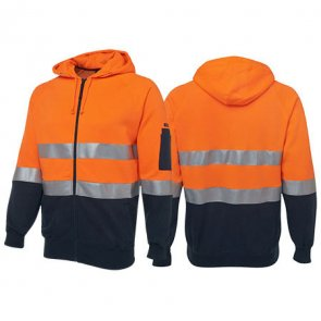 high-vis-hoodie-orange product image
