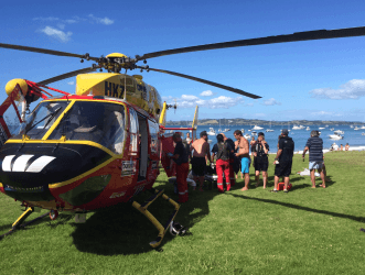 Primepac - sponsors of Auckland Westpac Rescue Helicopter Trust