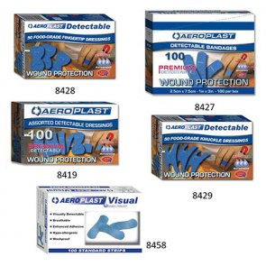 blue plasters for food industry product image