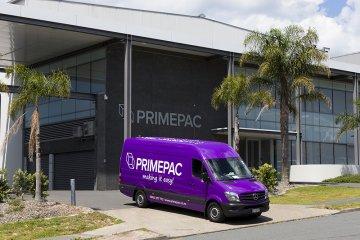 Primepac Auckland Delivery Van