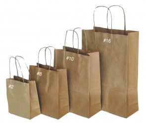 Paper Twist Handle Bags product image