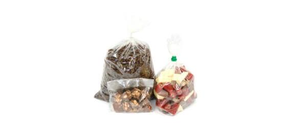 Shop cellophane bags
