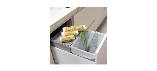 Compostable rubbish bags