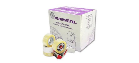Maestro packaging tape